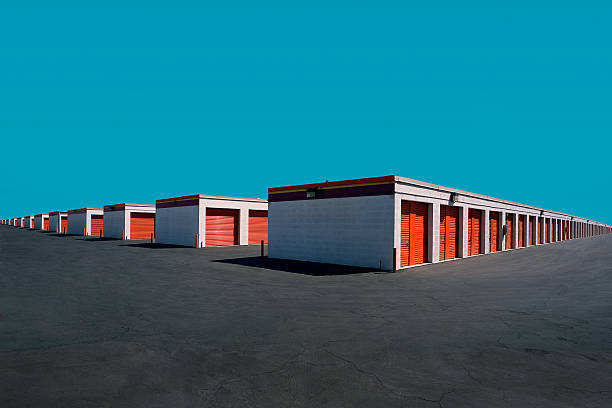 Endless Rows of Storage Units