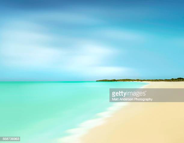endless summer - turks and caicos islands stock pictures, royalty-free photos & images