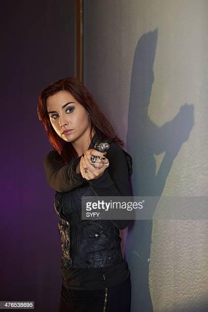 WAREHOUSE 13 Endless Terror Episode 501 Pictured Allison Scagliotti as Claudia Donovan