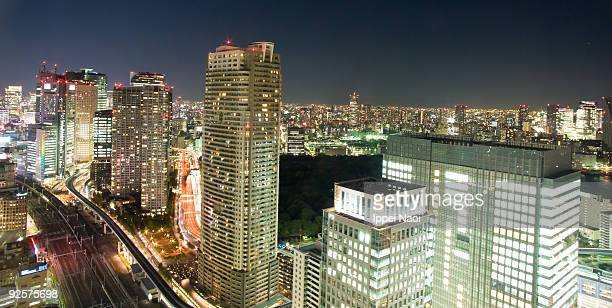 Endless Tokyo by night
