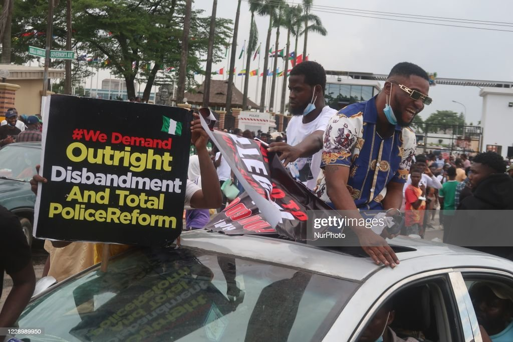 EndSARS Protest Against In Lagos : News Photo