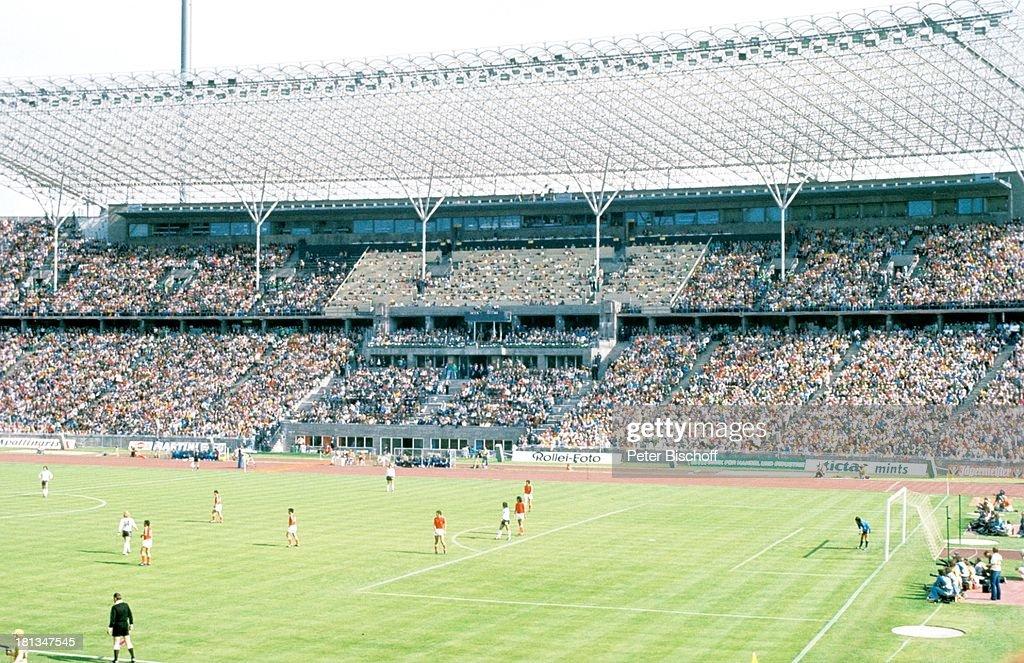 Endspiel Der Fussball Weltmeisterschaft 1974 Brd Holland