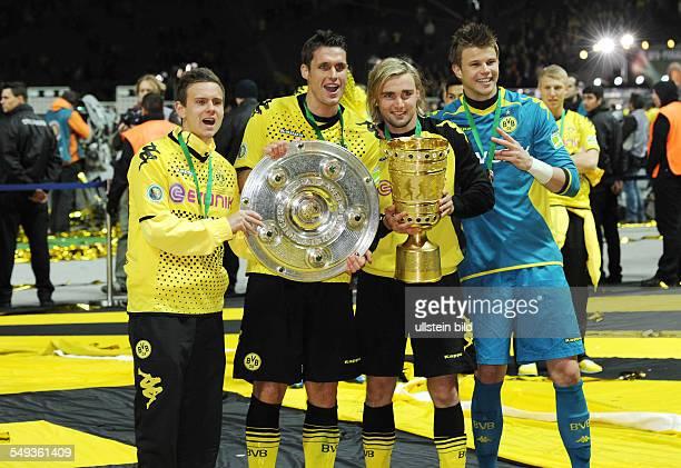 Endspiel Saison 2011/2012 Fussball Saison 20112012 DFBPokal Finale in Berlin 2012 Borussia Dortmund FC Bayern München 52 Chris Löwe Sebastian Kehl...