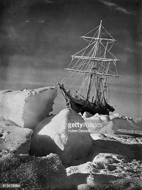 Endurance, the aptly named ship of Ernest Shackleton's last expedition to the Antarctic, is trapped in the ice of the Weddell Sea. The ship would be...