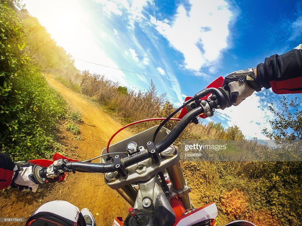 Enduro モトクロスオートバイレースヤス : ストックフォト