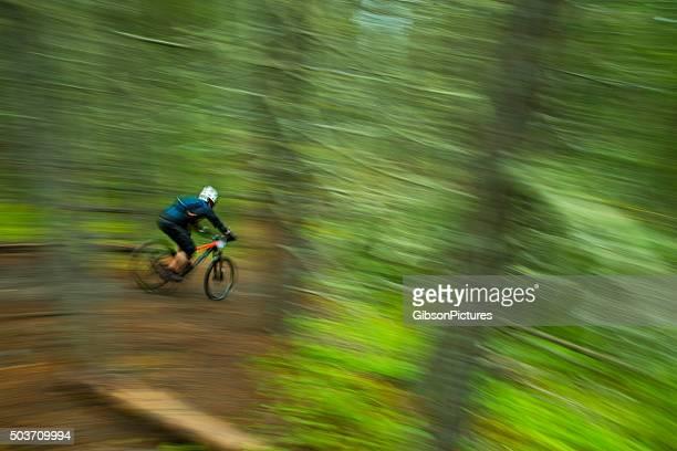 Vélo de montagne course Enduro
