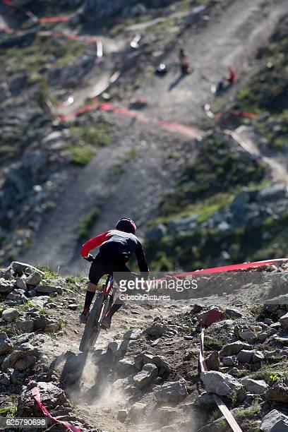 Enduro Mountain Bike Racer