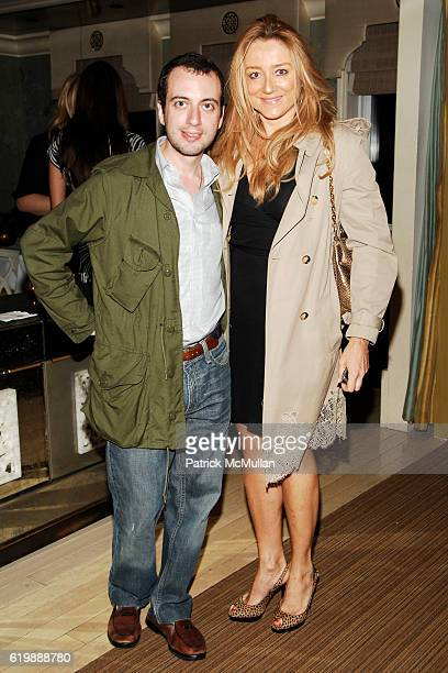 Eneas Capalbo and Caroline Berthet attend INTERVIEW Party to Celebrate BRIGID BERLIN at BERGDORF GOODMAN at BG on October 1 2008 in New York City