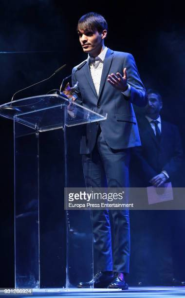 Eneko Sagardoy attends the Union de Actores Awards ceremony at the Circo Price on March 12 2018 in Madrid Spain