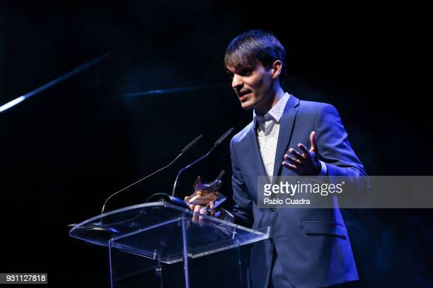 Eneko Sagardoy attends the 'Union de Actores' awards gala at Circo Price theater on March 12 2018 in Madrid Spain