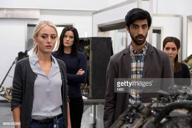 BLINDSPOT 'Enemy Bag of Tricks' Episode 302 Pictured Amy Rutberg as Marci Jaimie Alexander as Jane Doe Sathya Sridharan as Nikhil Audrey Esparza as...