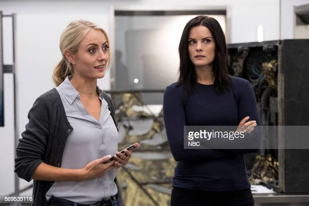 BLINDSPOT 'Enemy Bag of Tricks' Episode 302 Pictured Amy Rutberg as Marci Jaimie Alexander as Jane Doe