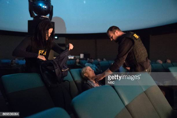 BLINDSPOT 'Enemy Bag of Tricks' Episode 302 Pictured Jaimie Alexander as Jane Doe Amy Rutberg as Marci Sullivan Stapleton as Kurt Weller