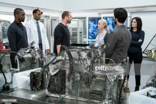 BLINDSPOT 'Enemy Bag of Tricks' Episode 302 Pictured Rob Brown as Edgar Reade Jordan JohnsonHinds as Stuart Sullivan Stapleton as Kurt Weller Amy...