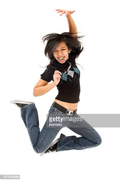 Energetic Young Woman