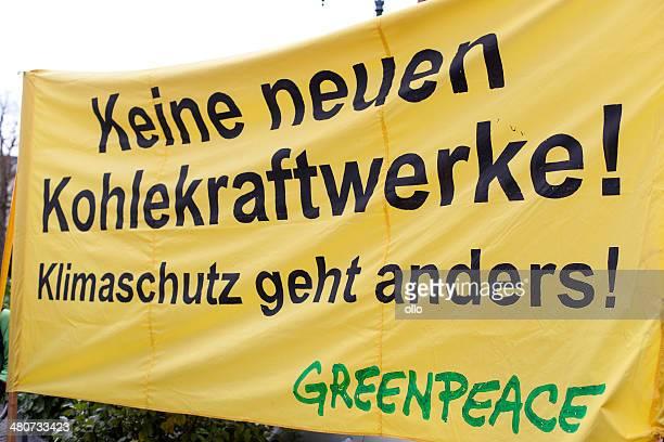 Energiewende retten. Demonstration in Wiesbaden, Germany
