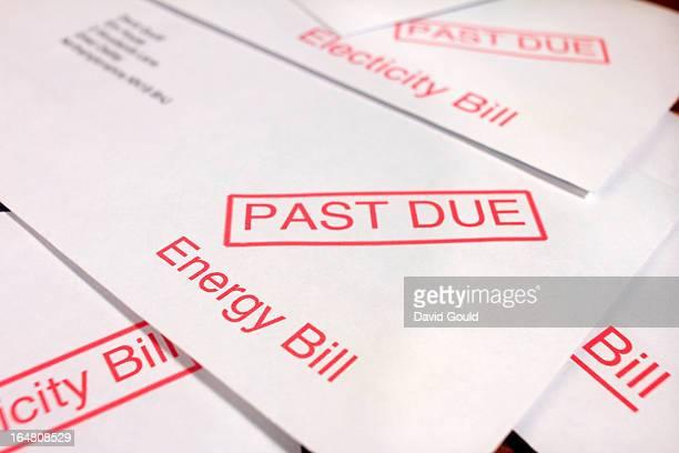 Energy bills past due