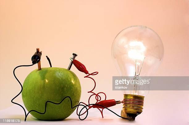 eficiência de energia, energia limpa - elétron - fotografias e filmes do acervo