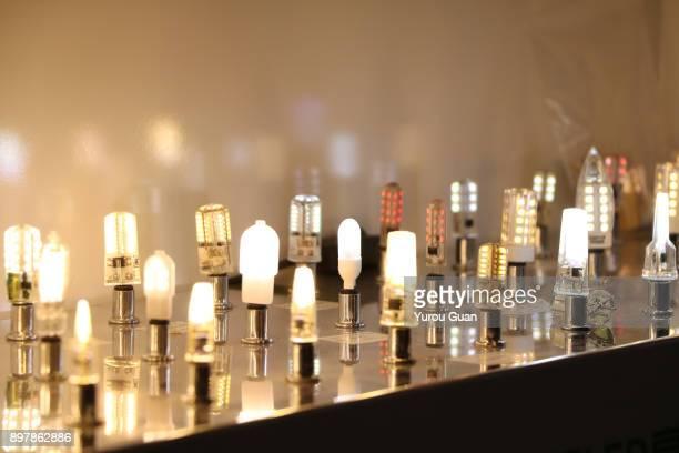Energy efficient lightbulb.