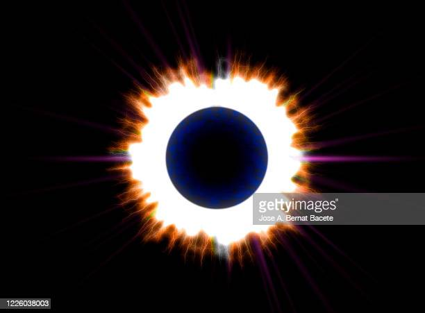 energy, lightning on black hole. - vector stock pictures, royalty-free photos & images