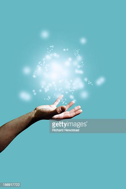 Energy Orb and Hand