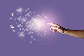 Energy Orbs and Hand
