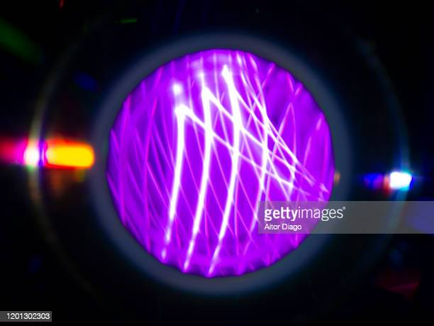 energy production. particle accelerator. - nuclear fusion stock pictures, royalty-free photos & images