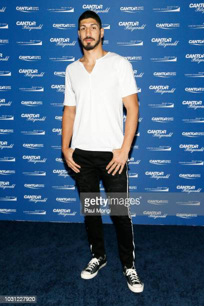 Enes Kanter attends the Annual Charity Day hosted by Cantor Fitzgerald BGC and GFI at Cantor Fitzgerald on September 11 2018 in New York City