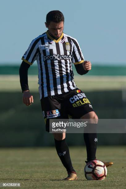 Enes Saglik during the friendly match between Royal Charleroi SC vsYanbian Funde FC at Pinatar Arena Murcia SPAIN 10th January of 2018