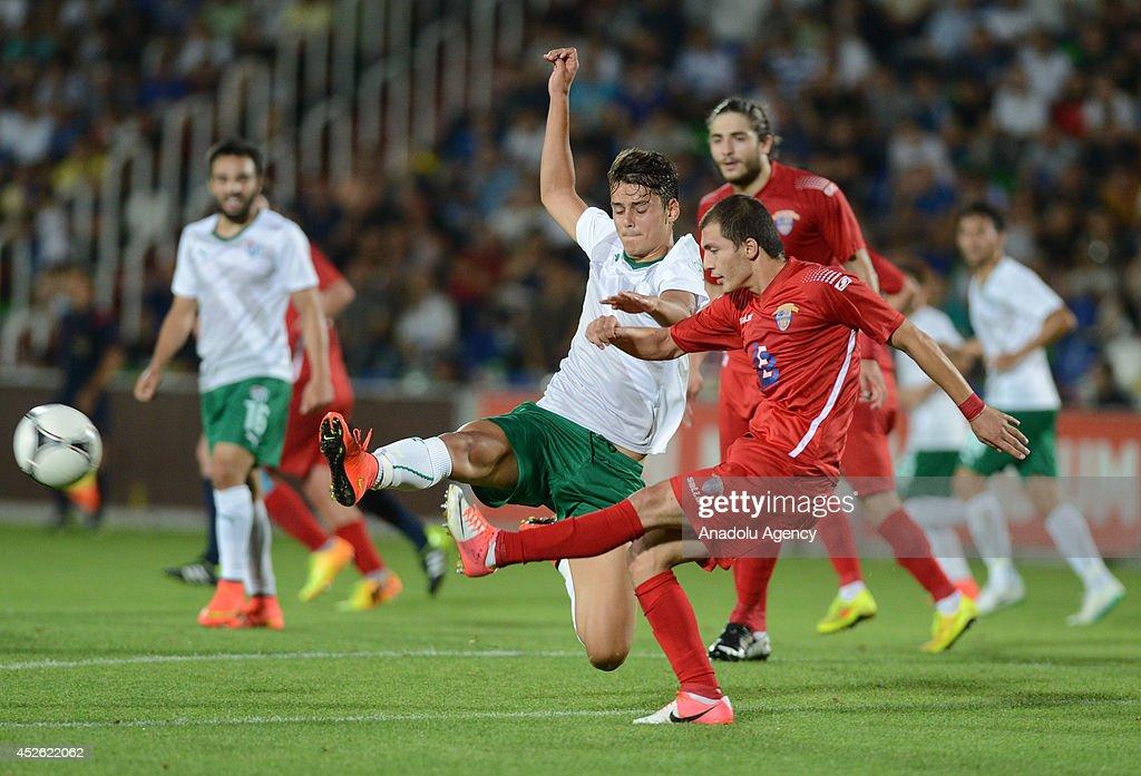 Chikhura Sachkhere Vs Bursaspor : News Photo