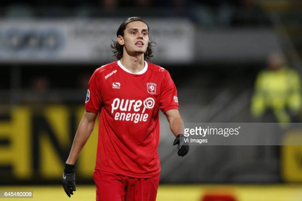 Enes Unal of FC Twenteduring the Dutch Eredivisie match between ADO Den Haag and FC Twente at Kyocera stadium on February 24 2017 in The Hague The...