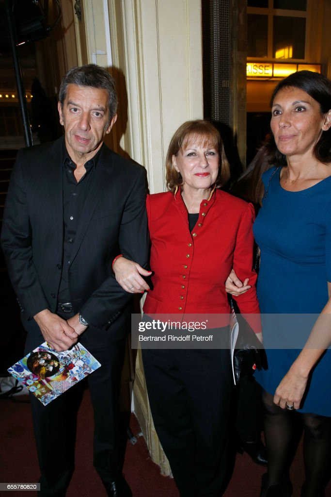 Enfance Majuscule Patricia Chalon Standing Between Michel Cymes News Photo Getty Images
