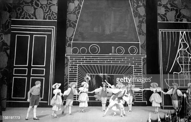 'L'Enfant et les Sortileges' by Maurice Ravel at the Paris Opera May 1939