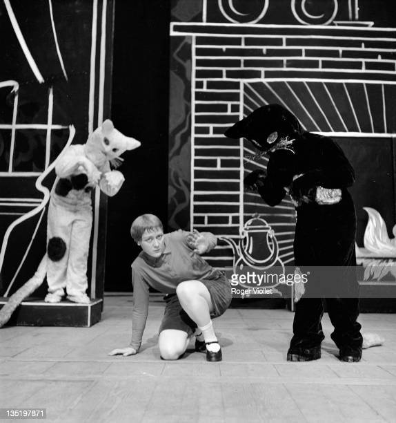 'L'Enfant et les Sortileges' by Maurice Ravel on stage at the Paris Opera May 1939 Production by Jacques Rouche MarieAntoinette Almona Jacqueline...