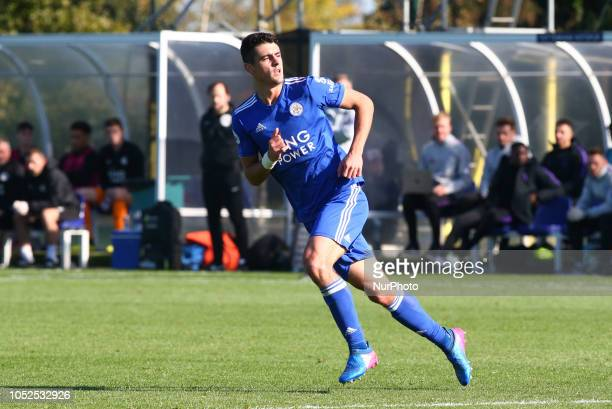 Enfield October 19 2018 Alex Pascanu of Leicester City Under 23 during Premier League 2 match between Tottenham Hotspur Under 23s and Leicester City...