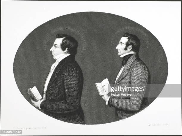 MORMON PROPHET 18051844 Eng by W Edards after D Rogers