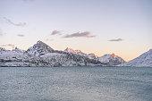 lago bianco is reservoir at bernina