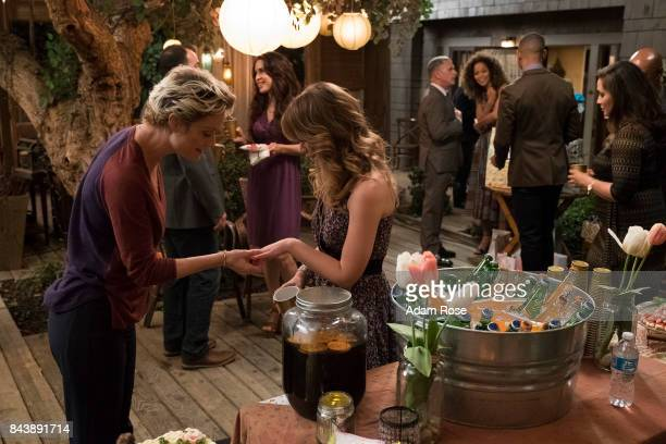 THE FOSTERS Engaged Brandon throws a party which turns south when secrets are revealed Mariana and Jude try to convince the students to vote against...