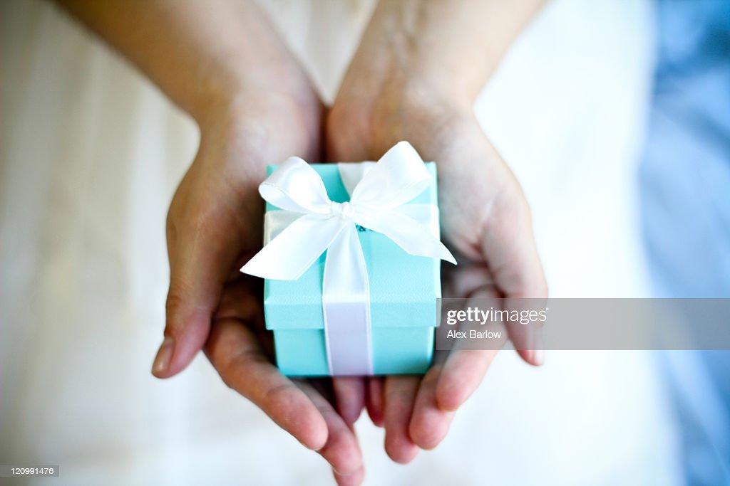 Engagement gift : Stock Photo