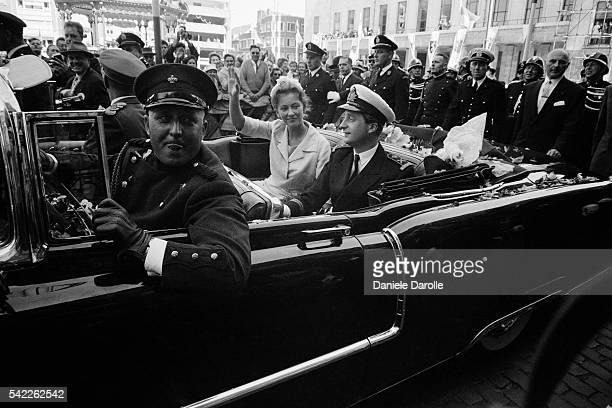 Engagement of King Albert II of Belgium with Princess Paola Ruffo di Calabria