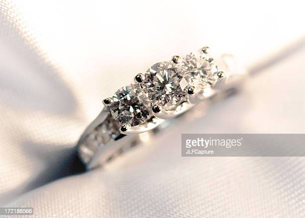 engagement ring - white gold stock pictures, royalty-free photos & images