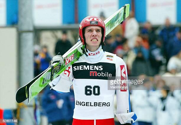 WELTCUP 02/03 Engelberg QUALIFIKATION/K120 Sigurd PETTERSEN/NOR