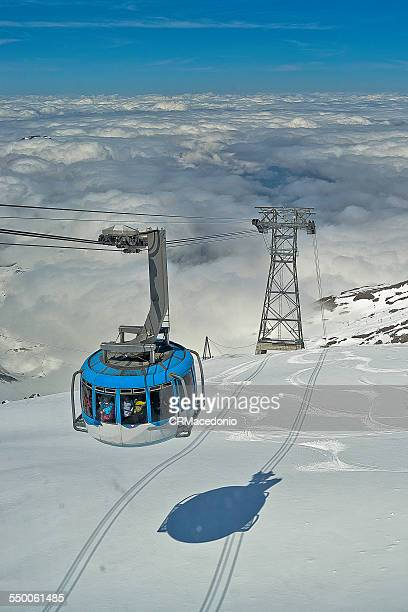 engelberg-titlis cableway - crmacedonio stock photos and pictures