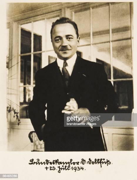 Engelbert Dollfuss austrian poltician 1932 1934 Federal Chancellor Photographic Postcard [Engelbert Dollfuss oesterreichischer Politiker 19321934...
