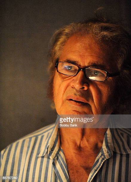 COVERAGE*** Engelbert Humperdinck attends a private recording session with Producer/Arranger Charlie Calello at the Hit Factory on April 2 2009 in...