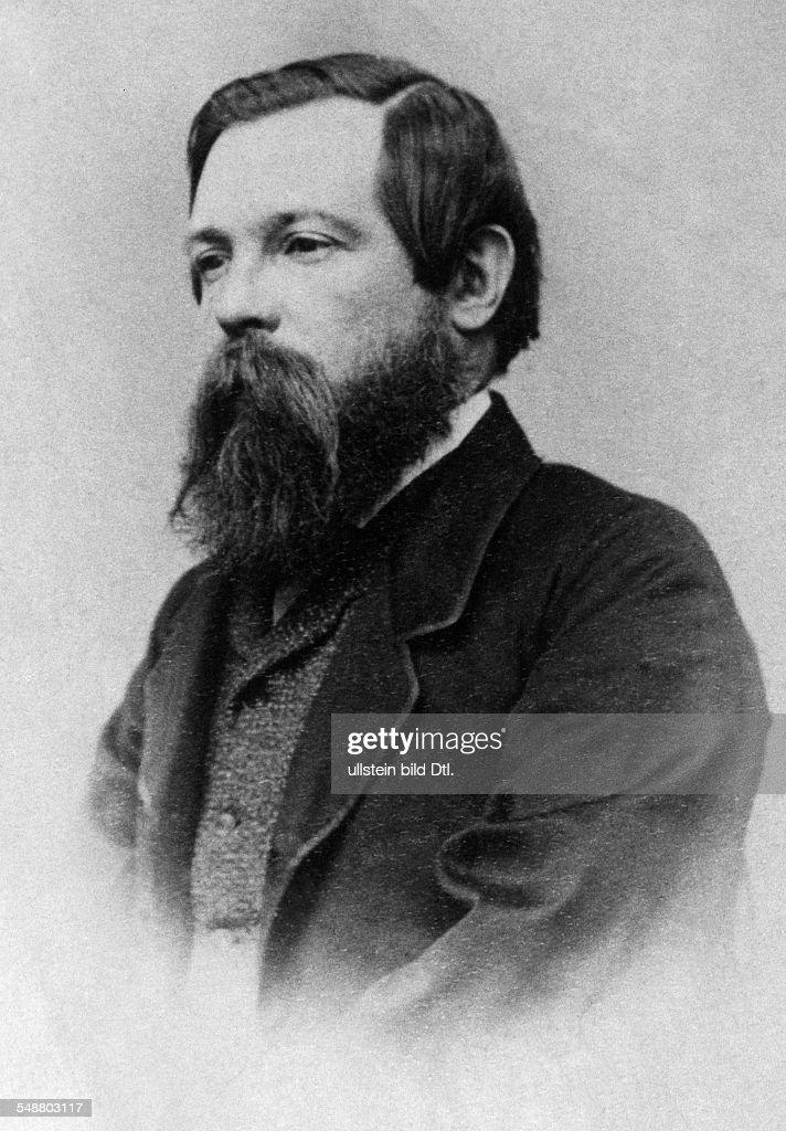 Engels, Friedrich - Politician, Socialist, Germany *28.11.1820-05.08.1895+ Portrait - 1870 - Vintage property of ullstein bild : Nachrichtenfoto