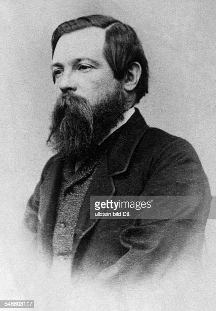 Engels Friedrich Politician Socialist Germany *2811182005081895 Portrait 1870 Vintage property of ullstein bild