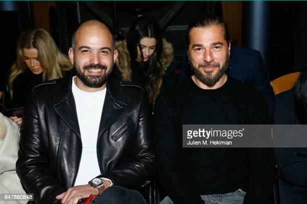 Engin Altan Duzyatan attends the Selma Cilek show as part of the Paris Fashion Week Womenswear Fall/Winter 2017/2018 on March 4 2017 in Paris France