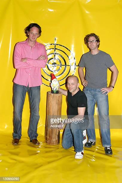 Engin Celikbas , Erik Kessels , Tyler Whisnand of Kessel Kramer at a book release event for '2kilo'