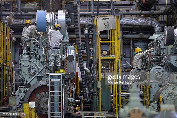 Engine Building in Japan